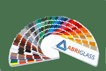 Palette de couleurs Abriglass