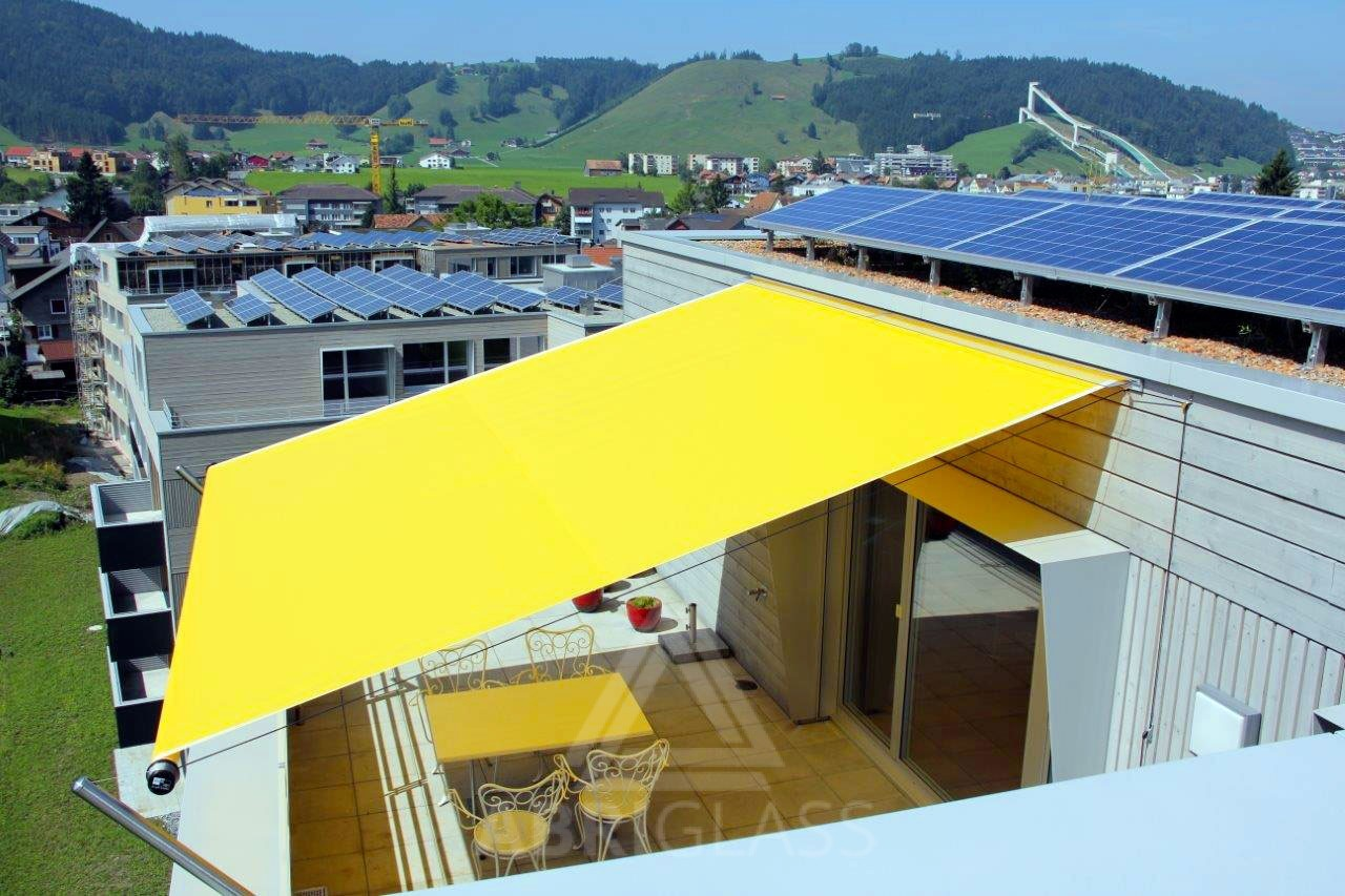 Voile D Ombrage Grand Vent voile d'ombrage enroulable tornado - abriglass