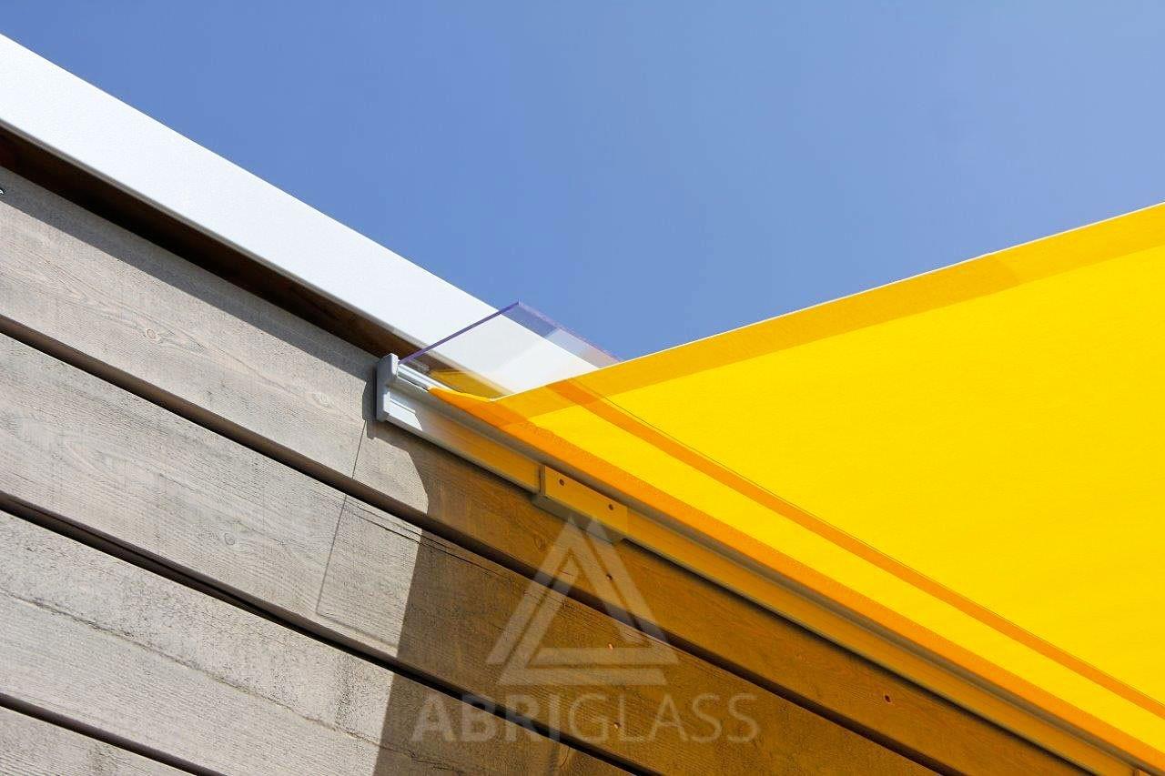 Voile Terrasse Enroulable : Voile d u0026#39;ombrage enroulable TORNADO Abriglass