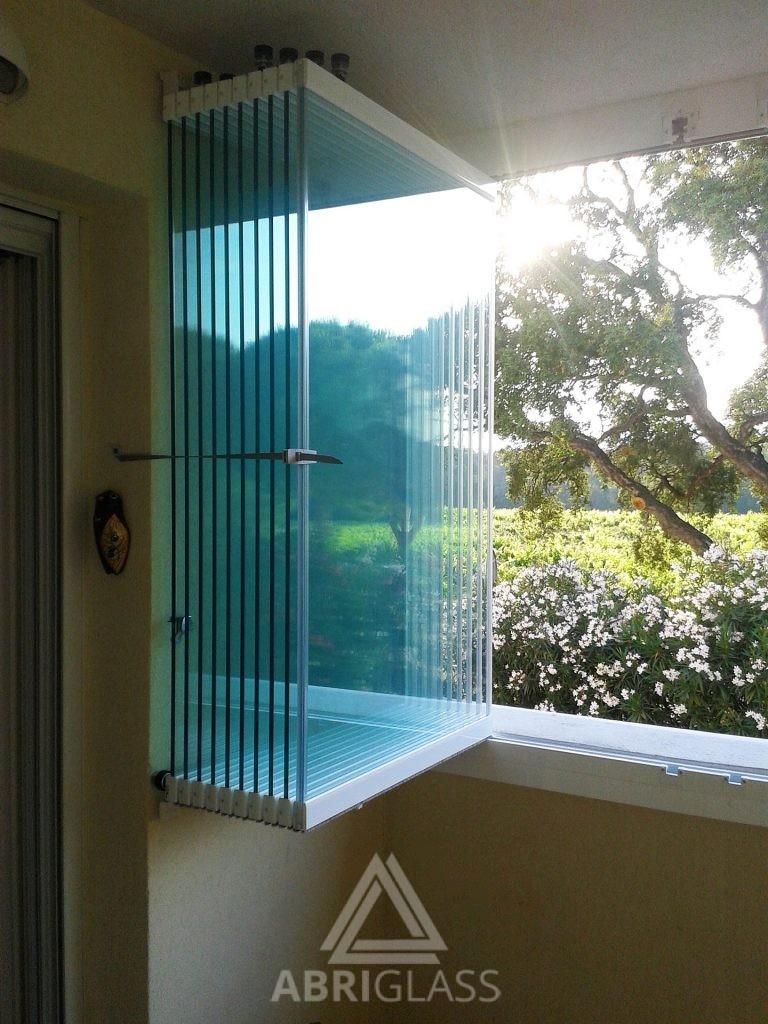 rideau de verre fermeture de balcon terrasse pour particuliers abriglass. Black Bedroom Furniture Sets. Home Design Ideas