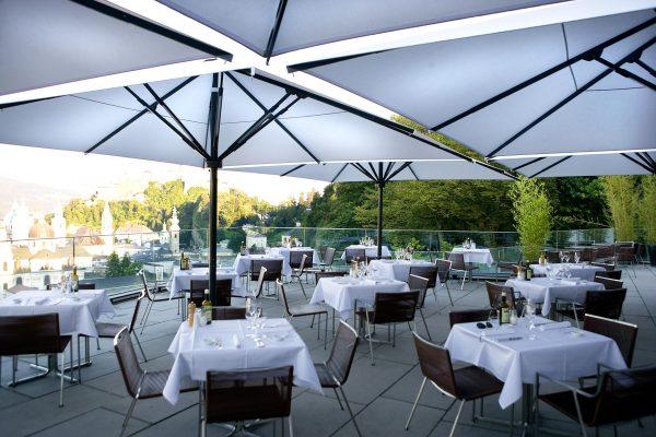 Protection solaire pour café, restaurant, brasseries.