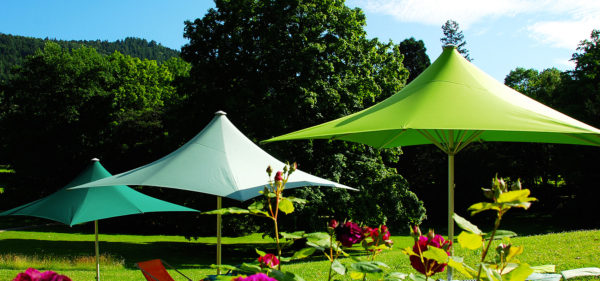 Parasol Pagode en Provence
