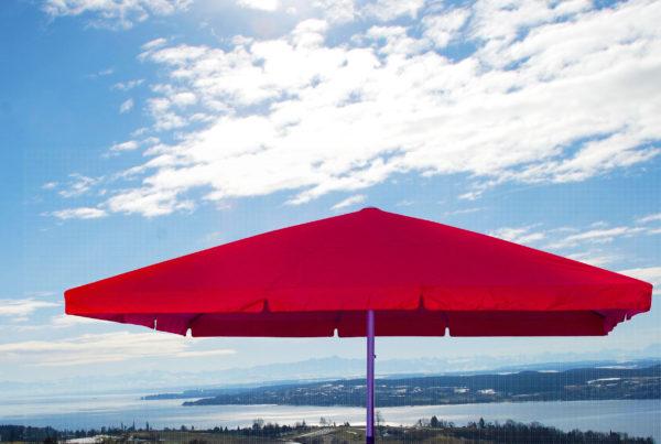 Parasol Facil avec volants