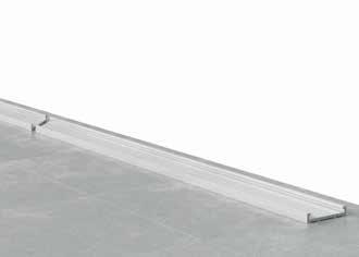 Installation de Garde corps en verre (B1) -Etape 1