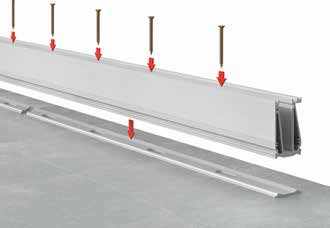 Installation de Garde corps en verre design (Type A20) -Etape 1