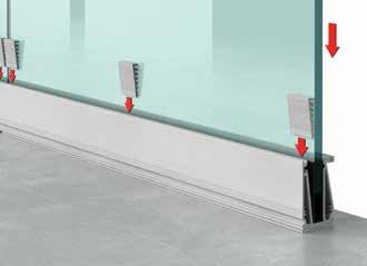Installation de Garde corps en verre design (Type A20) -Etape 3