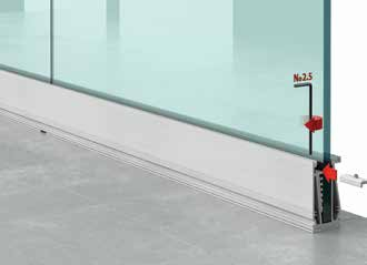 Installation de Garde corps en verre design (Type A20) -Etape 4