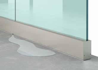 Installation de Garde corps en verre design (Type A20) -Etape 6