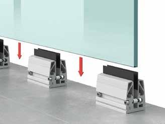 Installation de Garde corps en verre (Type A1) -Etape 3