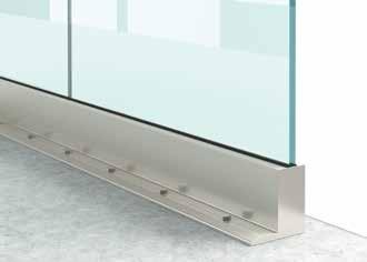 Garde corps en verre Type L1 Profil1 Installation6