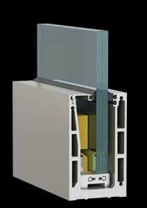 Garde corps en verre Type L1 Profil2