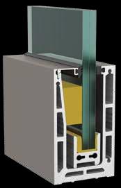 Garde corps en verre Type L1 Profil3