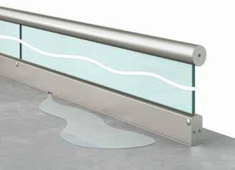Installation de Garde corps en verre (Type A10) -Etape 6