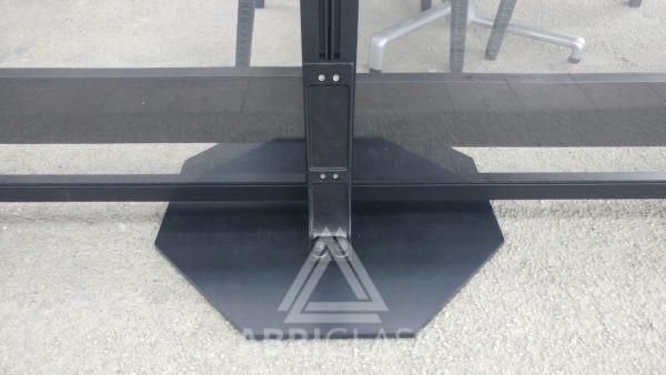 Supports et platine pour pose au sol sans percage